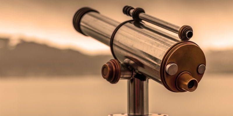 visão de mundo telescópio