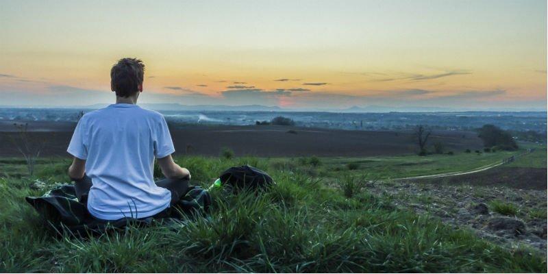 meditação matinal paz