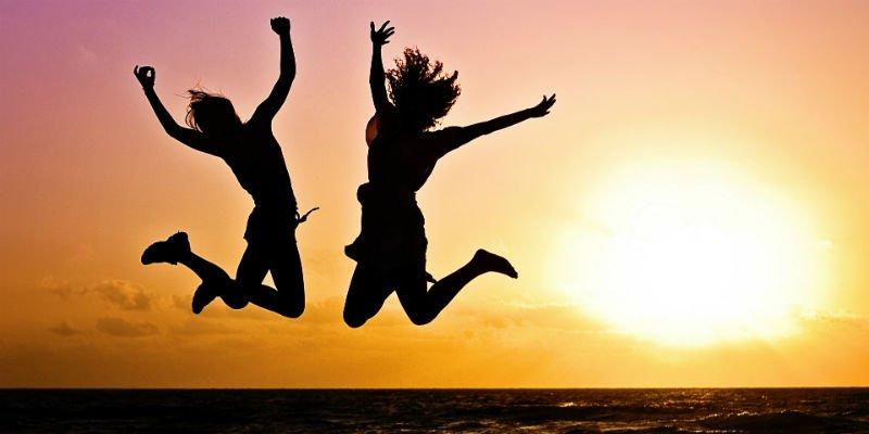 felicidade jovens